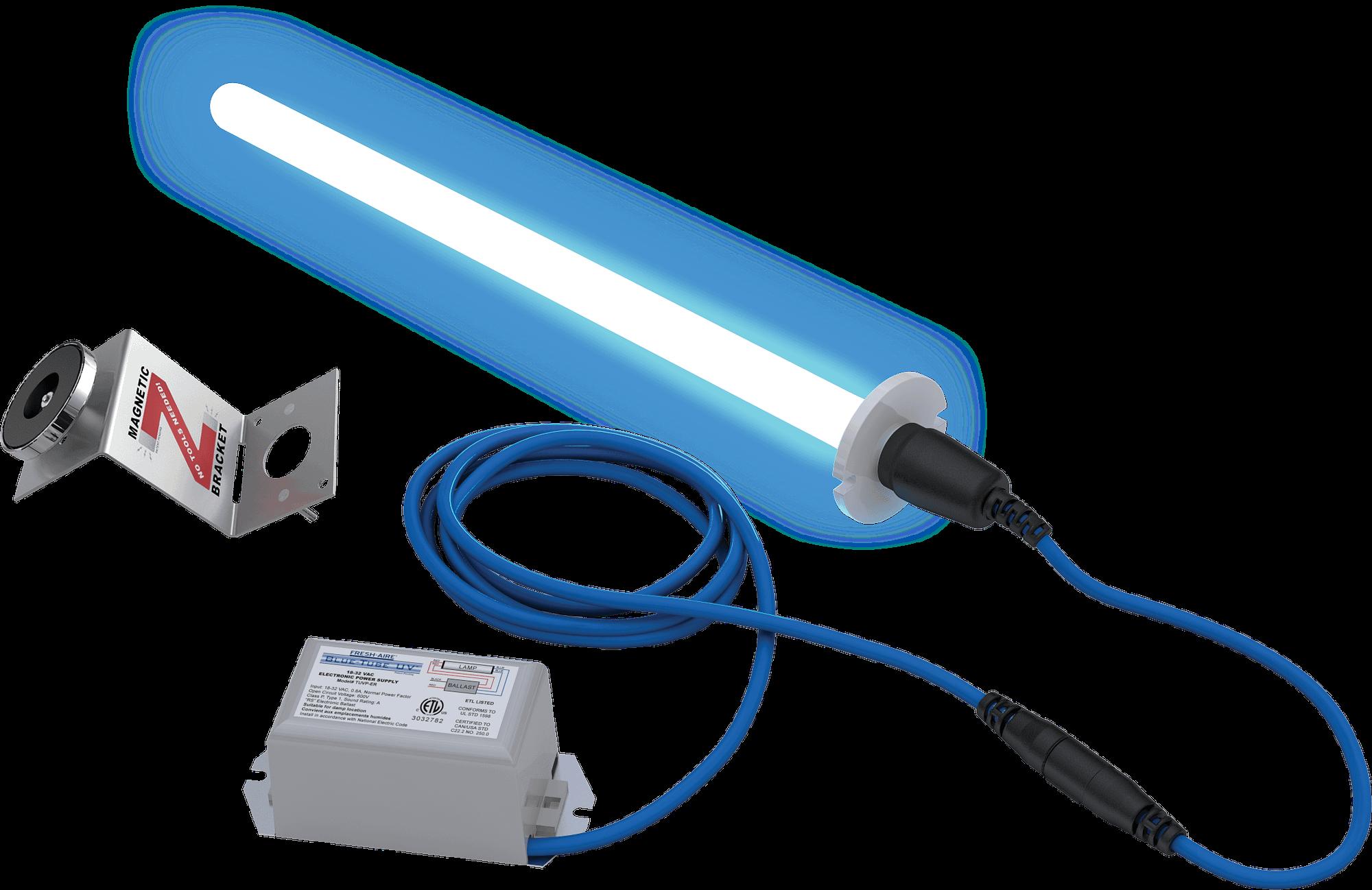 blue-tube UV