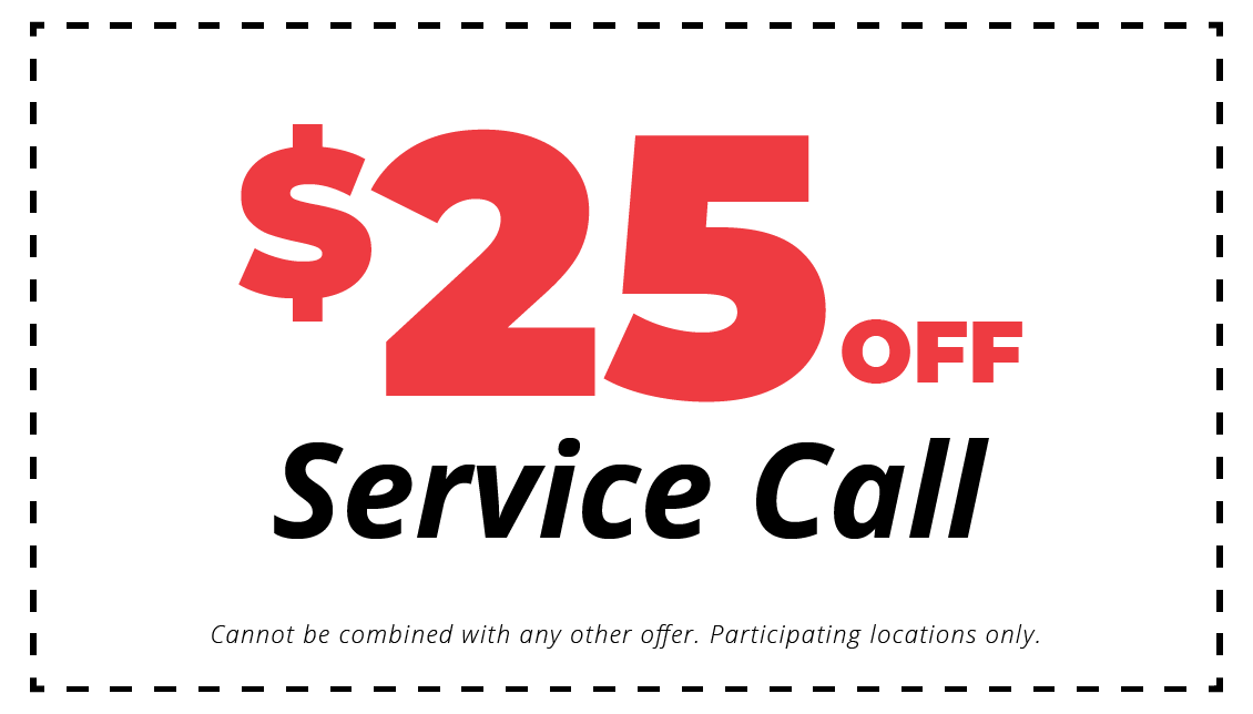 $25 off HVAC service call